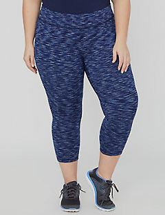 Spacedye Active Legging Capri