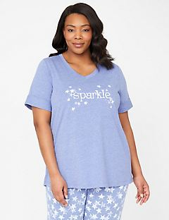 Sparkle Sleep Tee