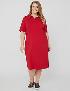 Suprema Polo Dress