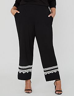AnyWear Reverie Straight-Leg Crop Pant