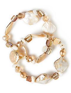 Honey Seashell Bracelets