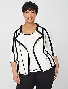 Curvy Collection Hourglass Jacket