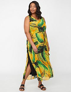 Island Sunrise Maxi Dress