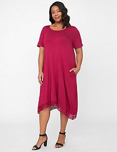 Skyline Horizon A-Line Dress
