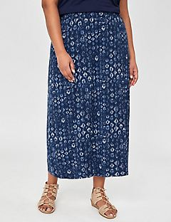 AnyWearBlue Mist Maxi Skirt