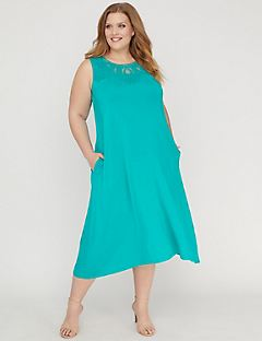 Blissful A-Line Dress