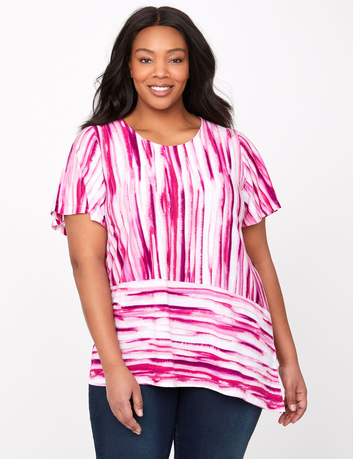Rouge Striped Top @...