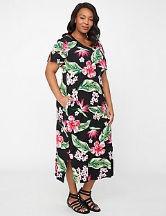 Azalea Bloom Maxi Dress