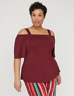 Curvy Collection Safari Dusk Top
