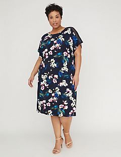 Floral Meadow A-Line Dress