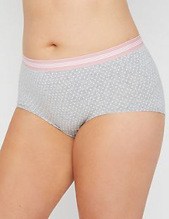 Pin Dot Cotton Boyshort