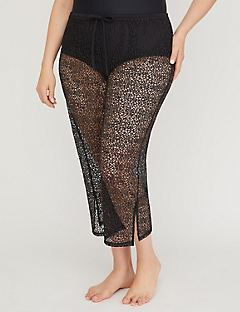 Open Sea Mesh Capri Cover-Up