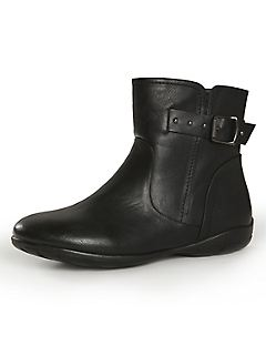 Good Soles Buckle Ankle Boot
