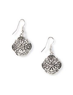 Clover Filigree Earrings