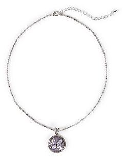 Amethyst Shimmer Necklace