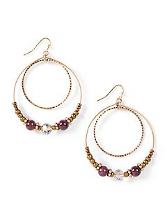 La Victoria Hoop Earrings