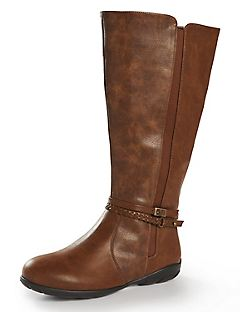 Good Sole Braided Riding Boot