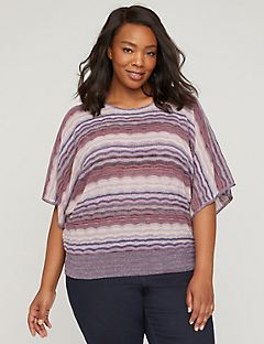 Ocean Breeze Multi-Stitch Pullover