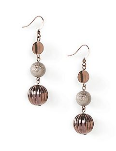 Gala Rose Drop Earrings