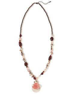 Gala Rose Beaded Necklace
