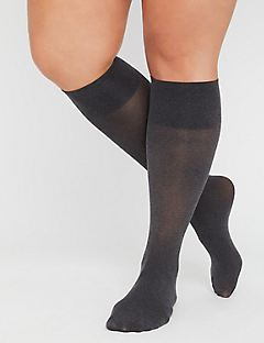 Heather Grey Trouser Sock