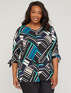 Calico Patchwork Tunic