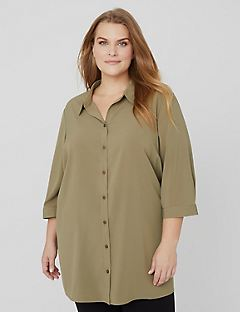 Lounge Buttonfront Shirt