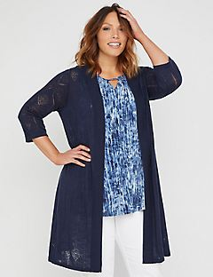 Pointelle Peek Duster