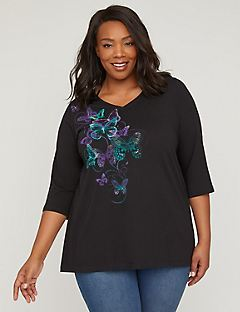 Butterfly Sparkle Top