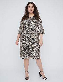 Easy Print Shift Dress
