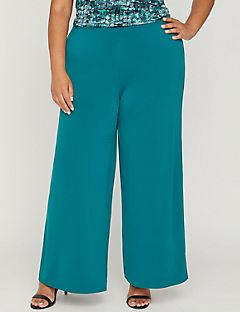 Curvy Collection Isle Breeze Palazzo Pant