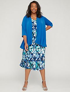 Floral Breeze Jacket Dress