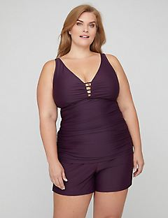 Resort Tankini with Ruching