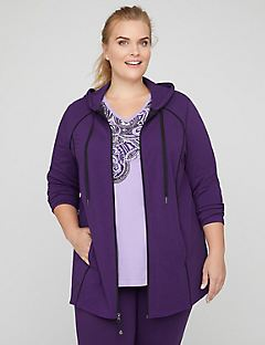 Yoga Jacket with Piping