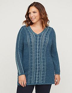 Deep Ridge Multi-Stitch Sweater