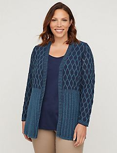 Night Sky Cable Cardigan
