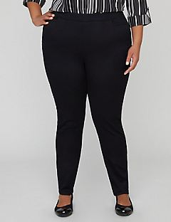 Pull-On Sateen Pant