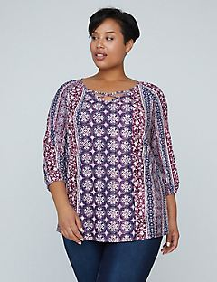 Pure Ease Crisscross Top