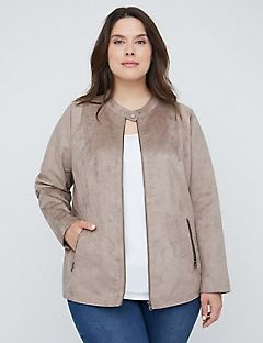 Soft Suede Jacket
