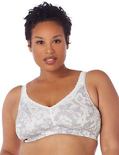 No-Wire Cotton Comfort Bra
