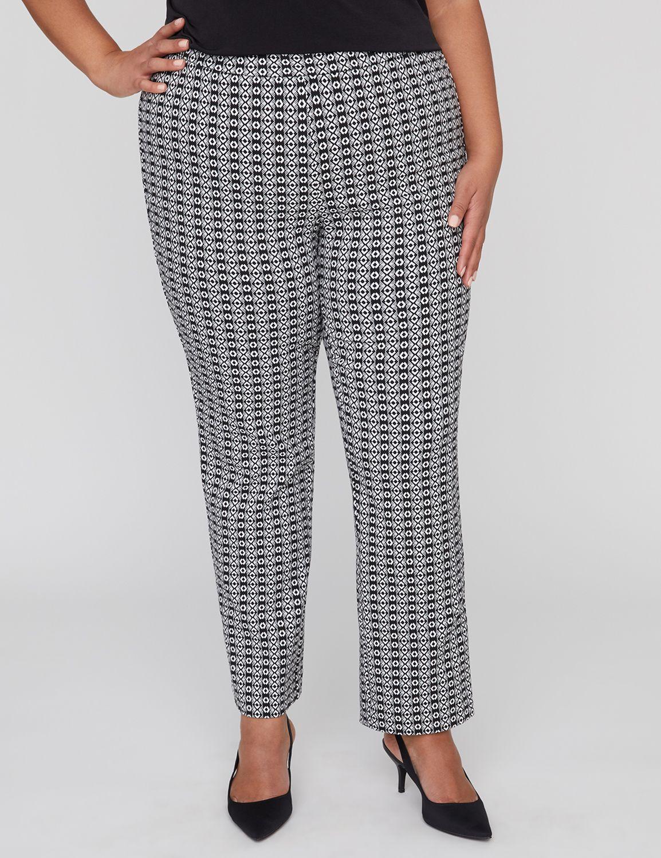 60s – 70s Pants, Jeans, Hippie, Bell Bottoms, Jumpsuits Black Label Jacquard Pant $37.99 AT vintagedancer.com