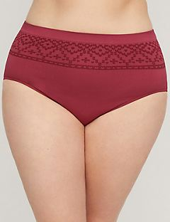 Bordeaux Pattern Seamless Full Brief