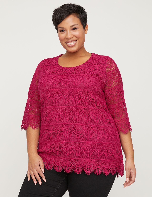 Azalea Crochet Lace Top...