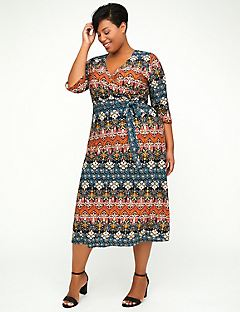 Fairmount Park Wrap Dress