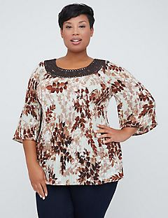 West Valley Park Pleated Top