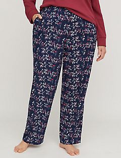 Bouquet Berries Flannel Sleep Pant