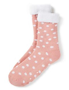 Cozy Dot Slipper Socks