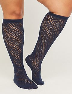 Lacy Romance Knee-High Socks