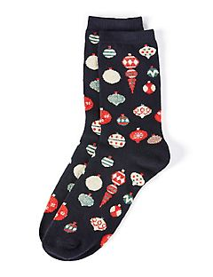 Ornament Crew Socks