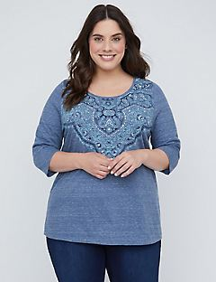 Maritime Heather Top